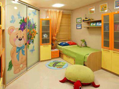 Мебель для детской комнаты с Фотопечатью